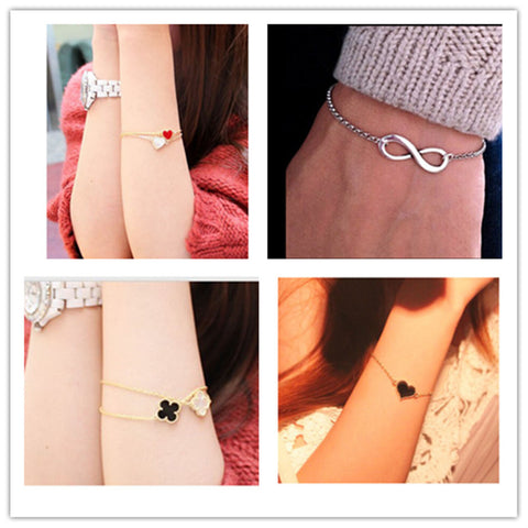 8 Infinity / Heart Bracelets ! - iWaaant.it - Shopping Made Easy & Fun