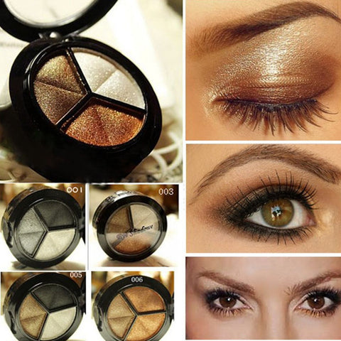 Makeup Naked Eyeshadow Palette 3 Colors - iWaaant.it - Shopping Made Easy & Fun