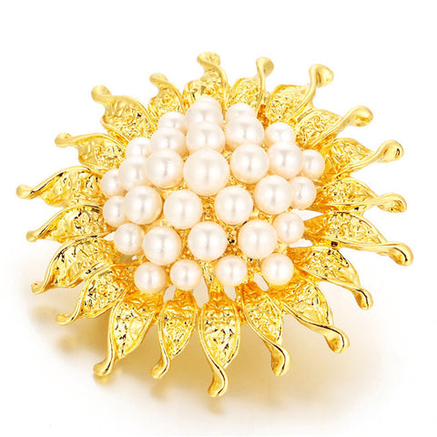 Luxury Banquet Flower Brooch Pin - iWaaant.it - Shopping Made Easy & Fun