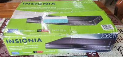 Used Insignia NS-BRDVD4 Full 1080p Blu-ray Player with Netflix - 2B-DropShip