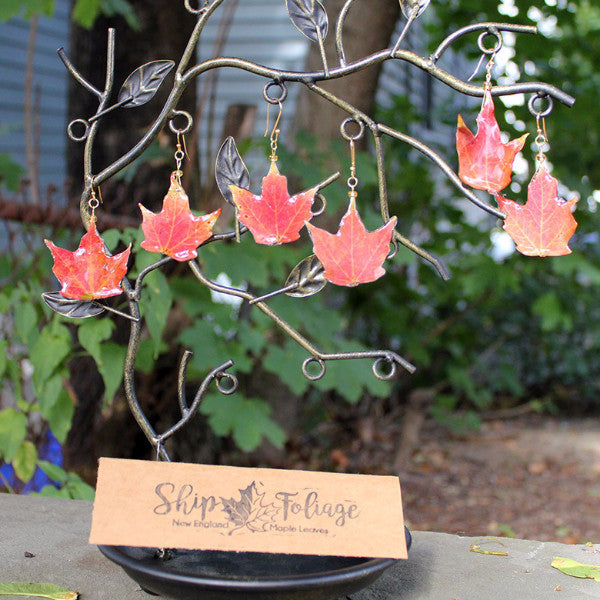 Fall Foliage Earrings