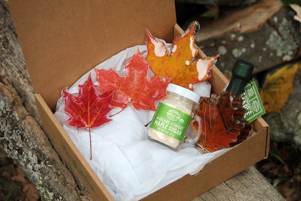Fall Gift Box + Maple Sugar Shaker