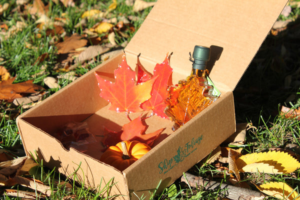 Fall Gift Box + Mini Pumpkin