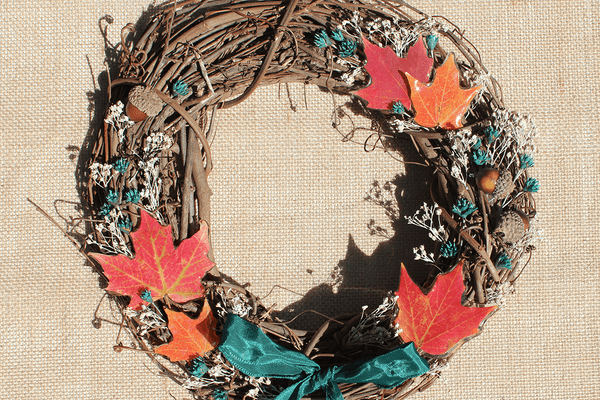 Fall Foliage Wreath