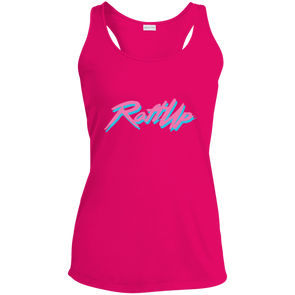 RaftUp Miami Sail Ladies' Racerback Moisture Wicking Tank