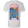 RaftUp Buffalo National River Men's Triblend Light T-Shirt