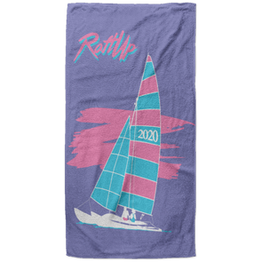 RaftUp Miami 2020 Beach Towel - 37x74