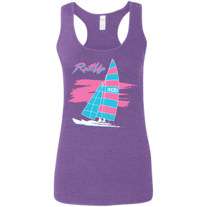 RaftUp Miami Sail Ladies' Softstyle Racerback Tank