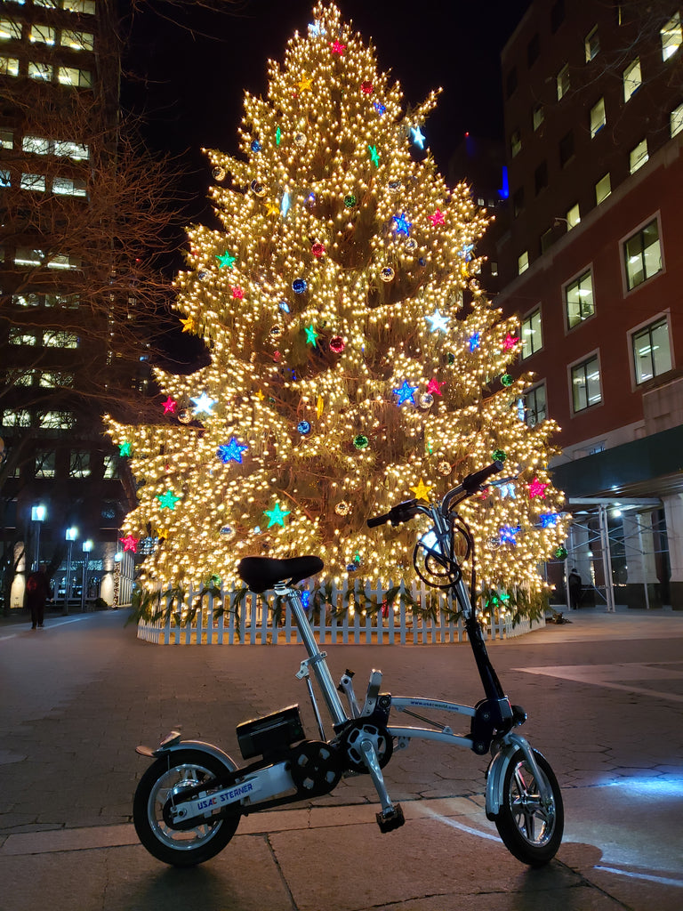A great Christmas gift under a grand Christmas tree - Sterner Electric Bikes