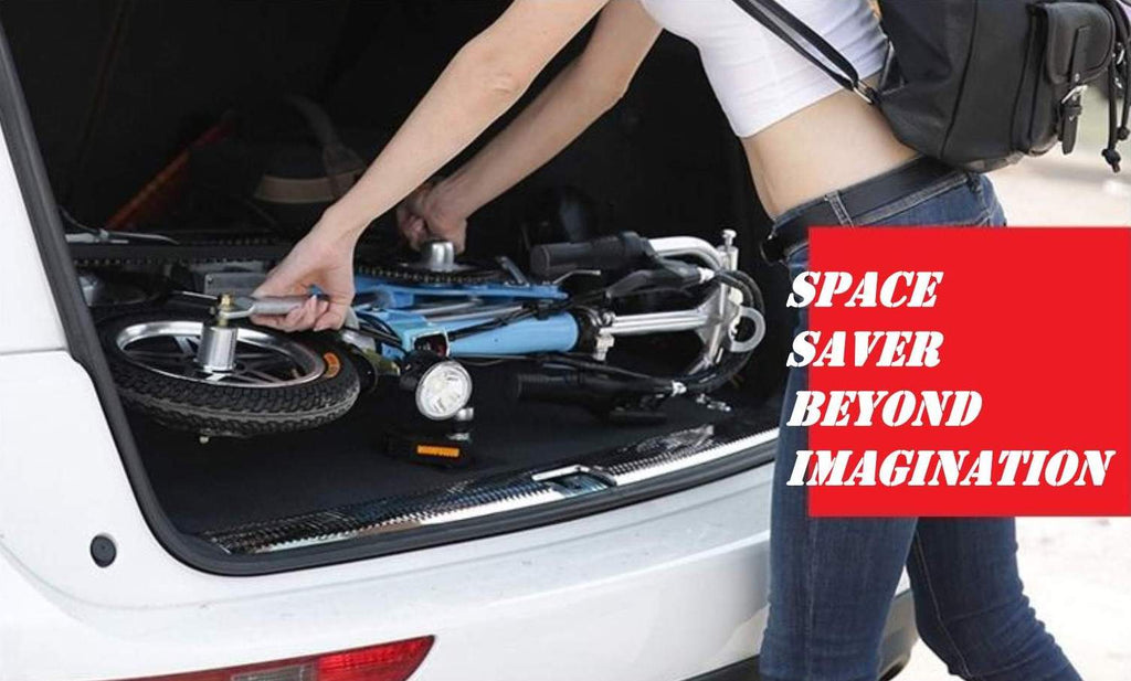 Space Saver Beyond Imagination - Sterner Electric Bikes