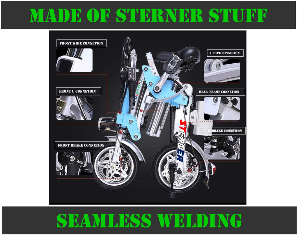 Made of Sterner Stuff - Sterner Electric Bikes