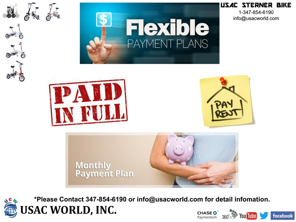 Sterner Bike Flexible Payment Plans