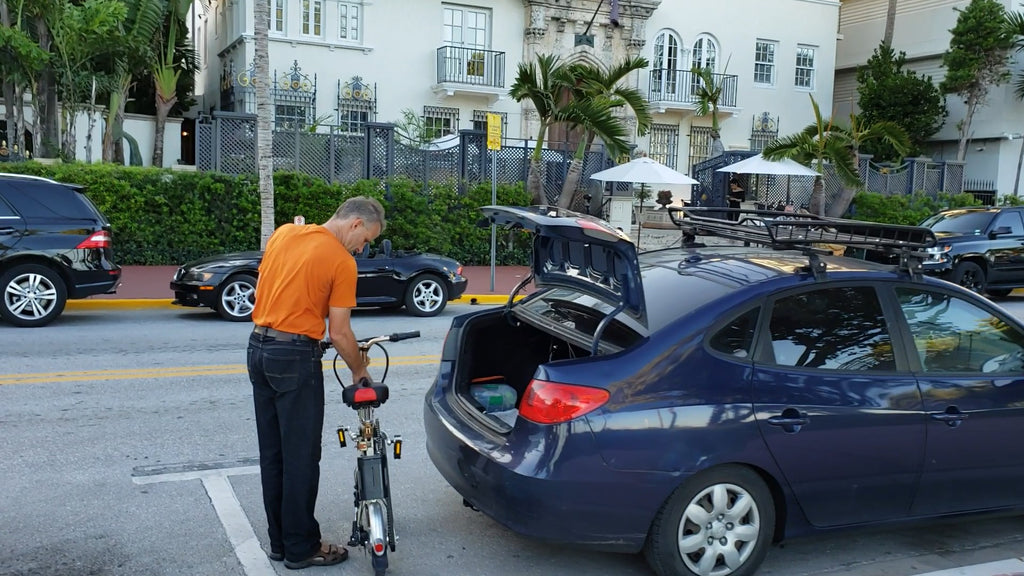 Pierre tried Sterner Electric Bikes in Miami Beach