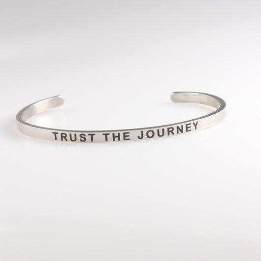Stainless Steel  Inspirational Quotes LOVE YOURSELF Bracelets