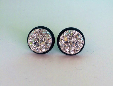 Build Your Own Druzy Stud Earrings