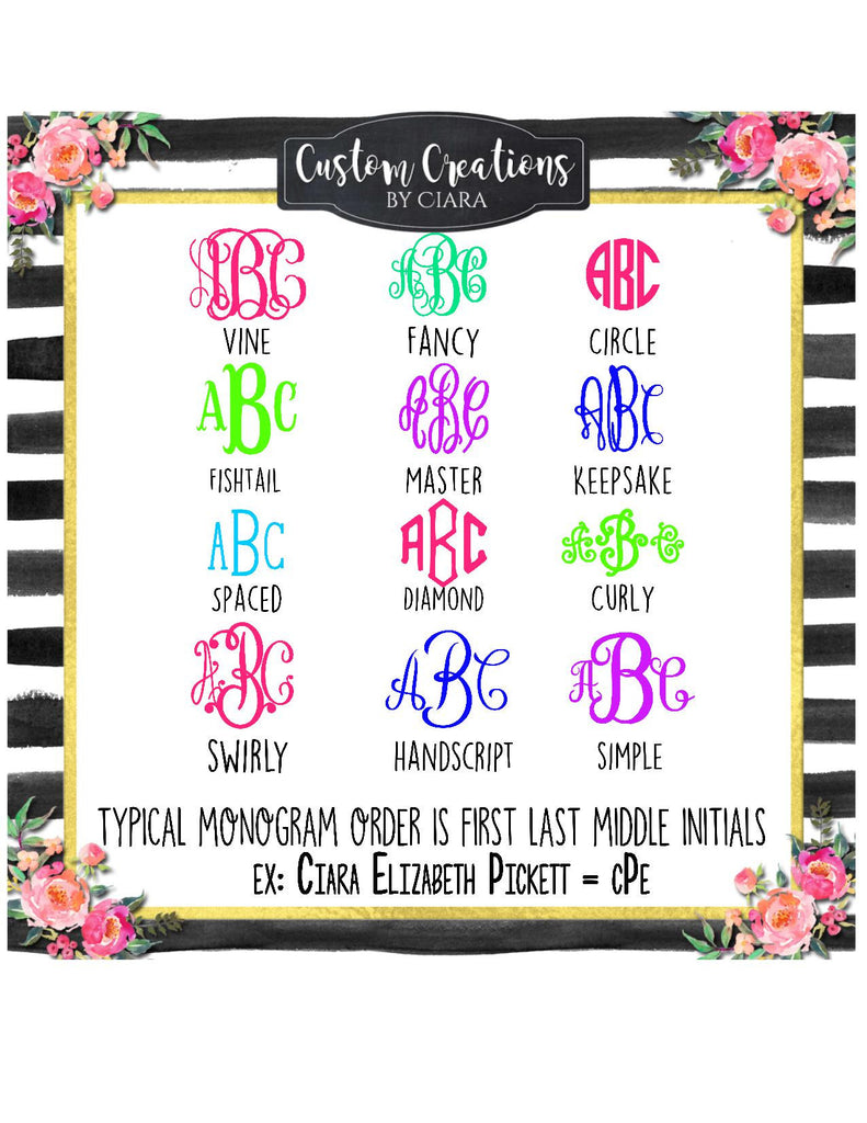 Lilly pattern mama bear decal and monogram mom gift perfect for yeti cars