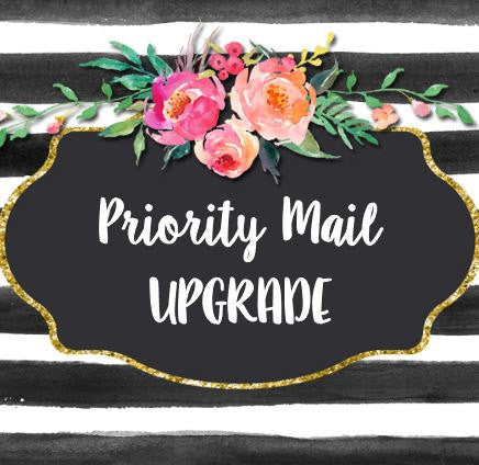 Priority Shipping Upgrade USPS 2-3 Day Shipping Delivery