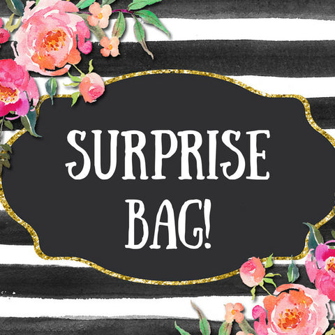 Surprise Monogram Decal Grab Bag - Customized For You! - No Bag Alike! - Custom Decals - Surprise Box Bag - Grab Bag - Monogram Decals SALE
