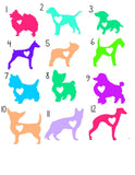 Lilly Any Dog Breed Decal - Pit Bull Decal - Pet Decal - Love My Dog Decal -  Pomeranian Decal - Boxer Decal - Puppy - Yorkie Decal -