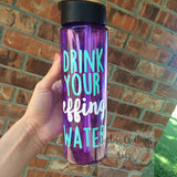 Custom 24 oz Water Bottle