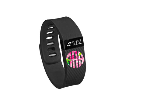 Lilly Pulitzer Inspired Fitbit Monogram