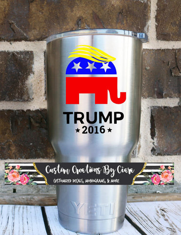 Trump Elephant Decal