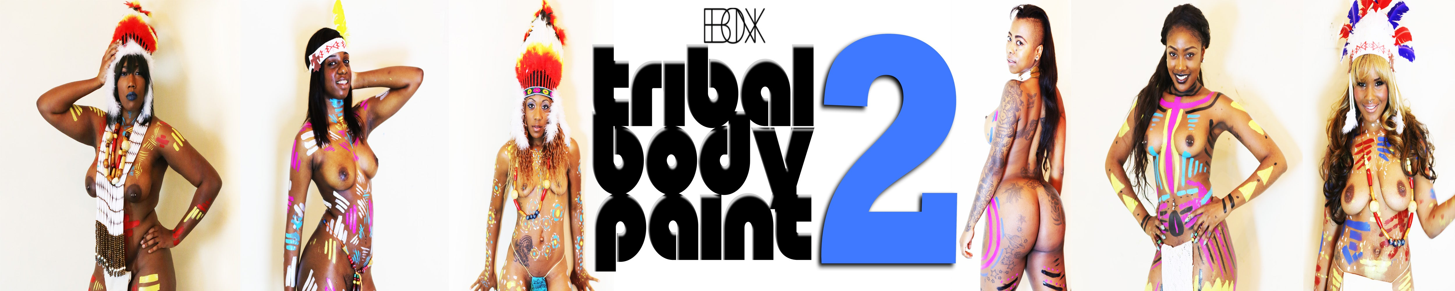 TRIBAL BODY PAINT #2
