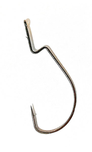 VMC 4/0 Single wide gap hooks with extra long shank