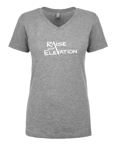 Raise Your Elevation - Ladies V-neck