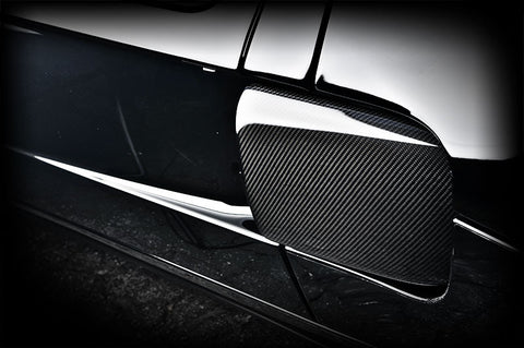 Tecnocraft Ford GT Dry Carbon Side Cooling Covers