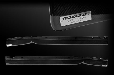 Tecnocraft Ford GT Dry Carbon Side Diffusers
