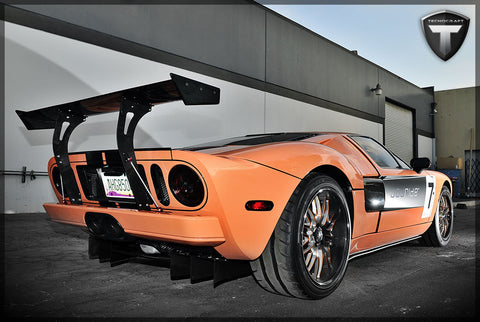 Tecnocraft Ford Gt Dry Carbon Rear Wing