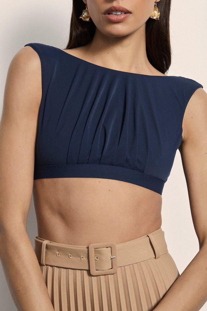 Opio Top - Navy