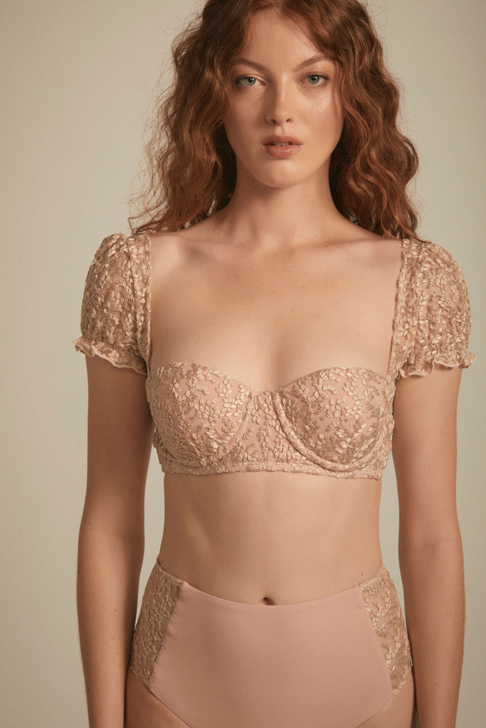 Nicolette Top - Dusty Pink