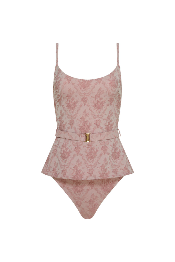 Antoinette Maillot - Pink Toile