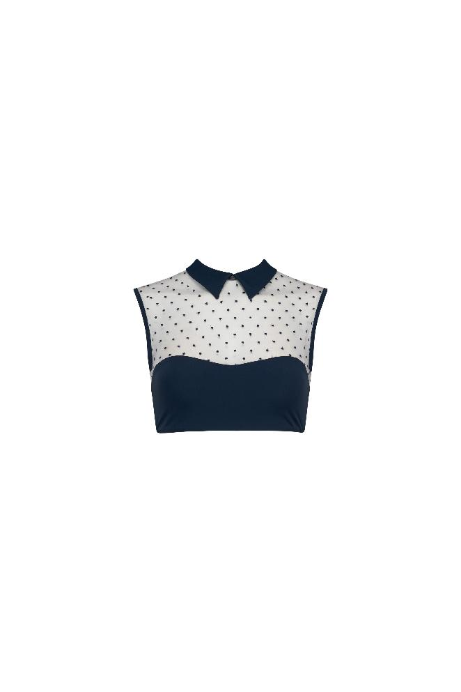 Brittany Top - Navy