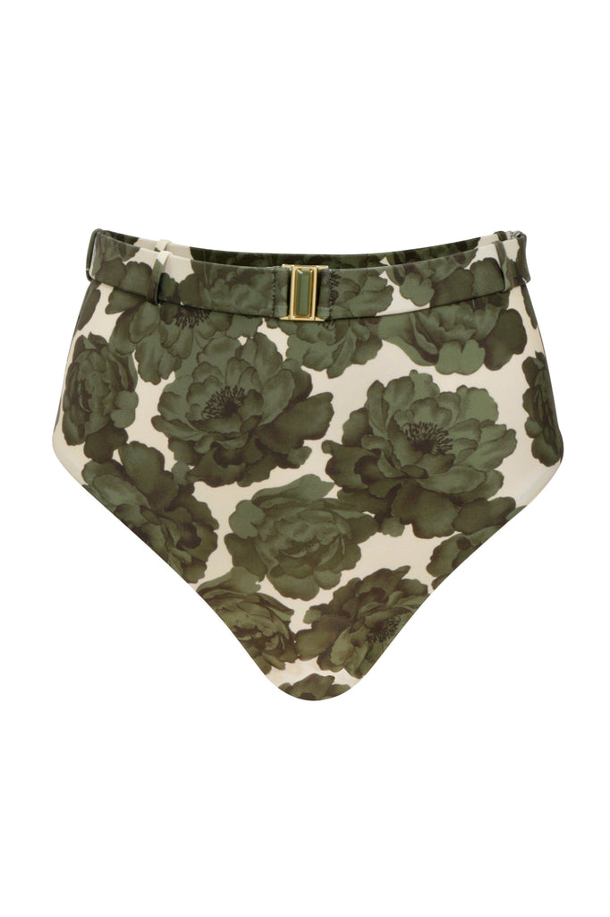 designer-swimwear-green-floral-high-waisted-bikini-bottom-on-white-background