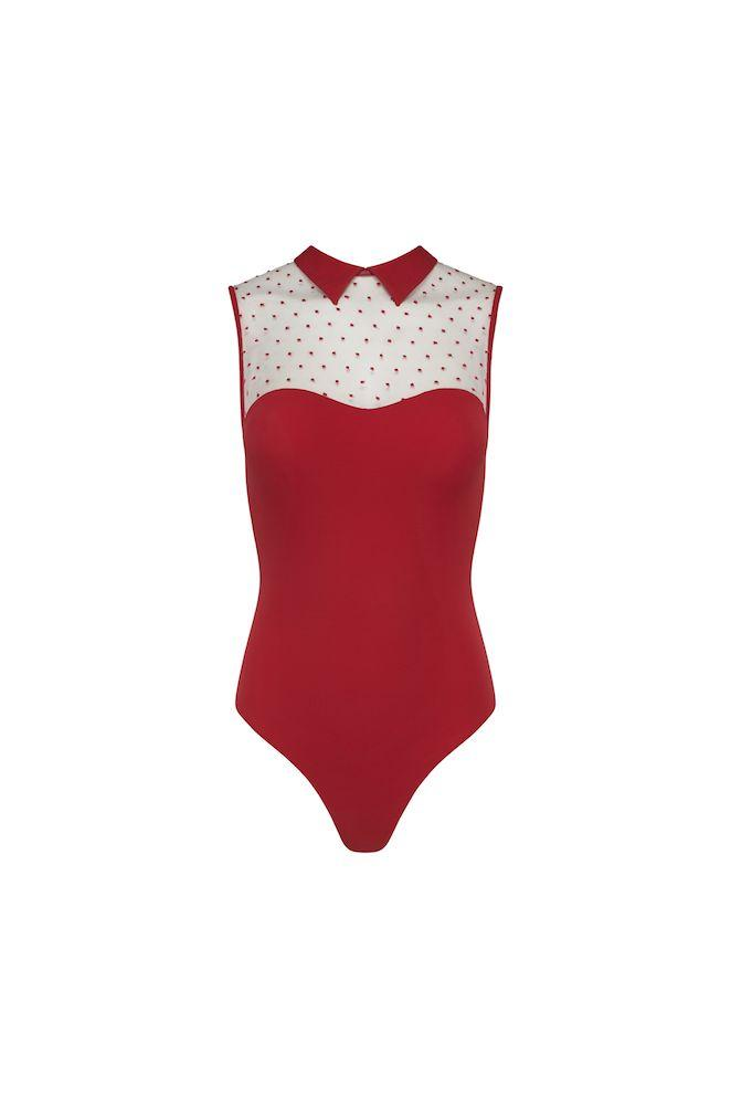 Pauline Maillot - Rouge
