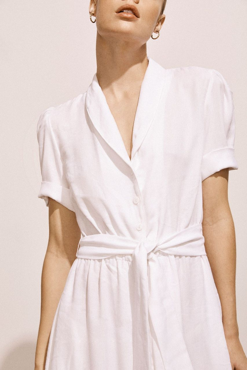 AMAIÒriginal Kamille Jersey Dress - Ivory