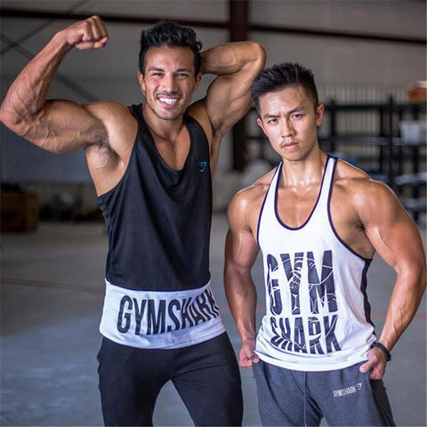 8868198e338a2 bodybuilding!Professional fitness Tank tops cotton vest paragraph  bodybuilding fitness Tank top for men musculation