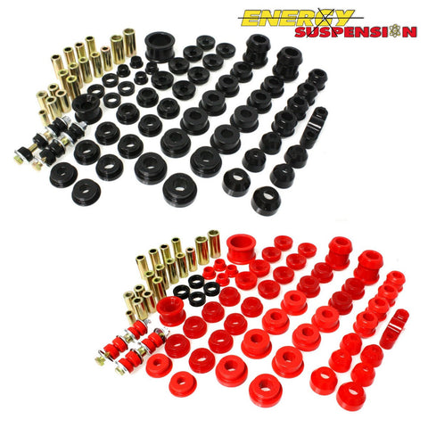 Energy Suspension Hyper - Flex System Complete Master Bushing Set(Civic91-96/DelSol/Integra94-01)