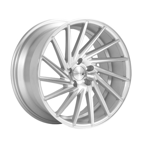 1AV ZX1 19x9,5 ET40 SILVER/POLISHED FACE