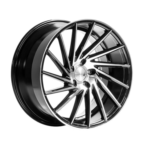 1AV ZX1 20x9,5 ET40 BLACK/POLISHED FACE