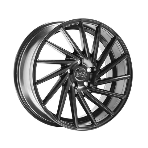 1AV ZX1 18x8 ET42 SATIN BLACK