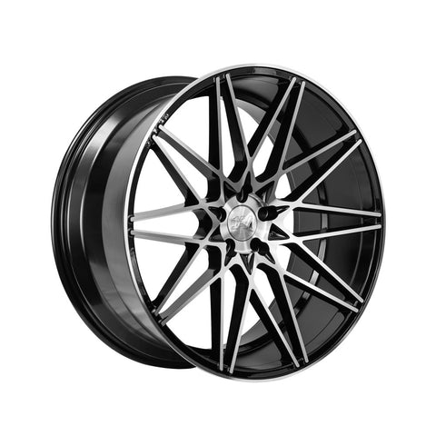 1AV ZX4 20x10,5 ET42 BLACK/POLISHED FACE