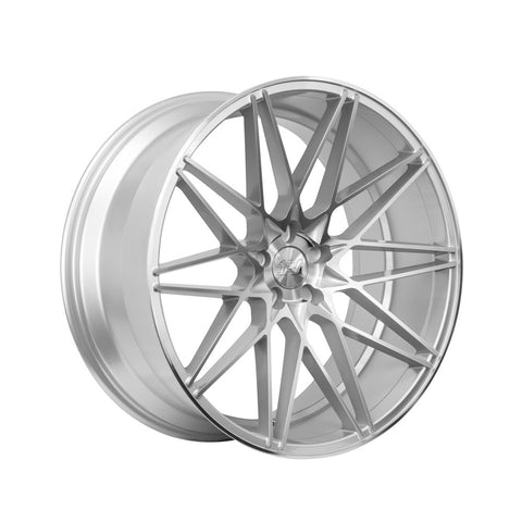 1AV ZX4 22x10,5 ET25 SILVER/POLISHED