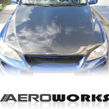 Lexus IS200/300 Aeroworks Carbon OEM Cofano