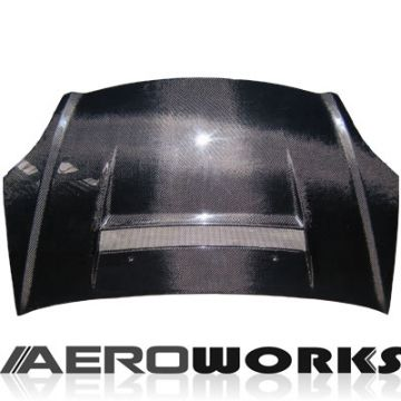 Honda Civic 01-05 HB Aeroworks Carbon VS2 Cofano