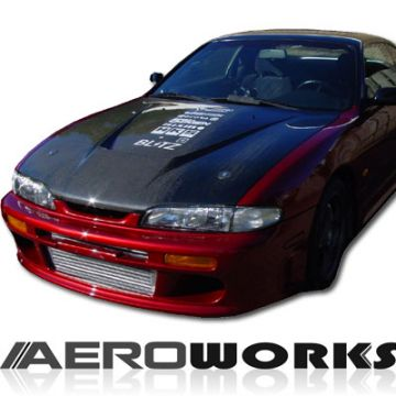 Nissan S14 95-96 Aeroworks Carbon Invader Cofano