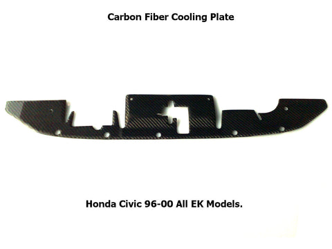 Honda Civic 96-00 Cooling plate radiatore in carbonio[Aeroworks]